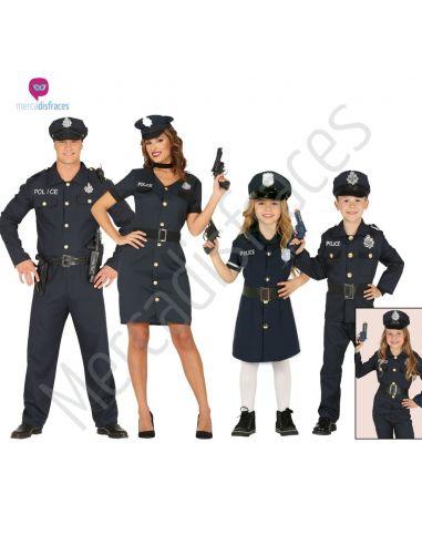 Disfraces Grupos de Policías Tienda de disfraces online - venta disfraces