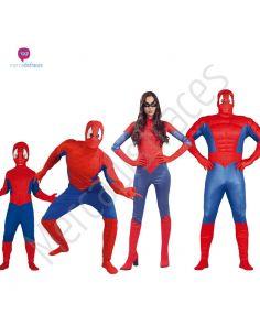 Disfraces para grupos Superheroes Araña Tienda de disfraces online - venta disfraces