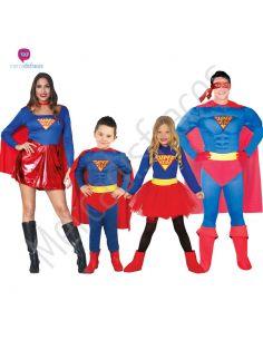 Disfraces para grupos Superheroes Man Tienda de disfraces online - venta disfraces