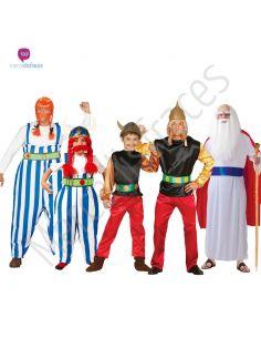 Disfraces para grupos Obelix y Asterix Tienda de disfraces online - venta disfraces