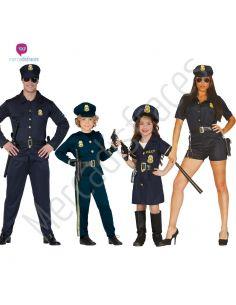 Disfraces para grupos Policias Tienda de disfraces online - venta disfraces