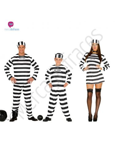 Disfraces para grupos Presos Tienda de disfraces online - venta disfraces