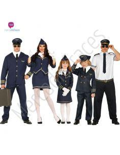 Disfraces divertidos de Pilotos de Avion para grupos Tienda de disfraces online - venta disfraces