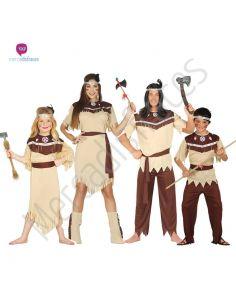 Disfraces grupos Indios Tienda de disfraces online - venta disfraces