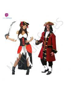 Disfraces divertidos de Piratas para grupos Tienda de disfraces online - venta disfraces