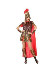 Disfraz de Guerrera Romana Roja mujer Tienda de disfraces online - venta disfraces