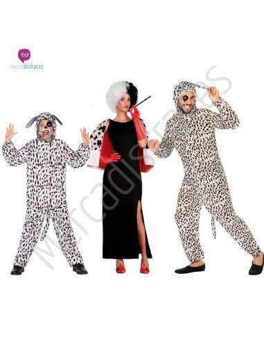 Disfraces para grupos de Cruela y Dalmatas baratos Tienda de disfraces online - venta disfraces