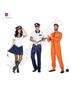 Disfraces para grupos de Policia Municipal baratos Tienda de disfraces online - venta disfraces