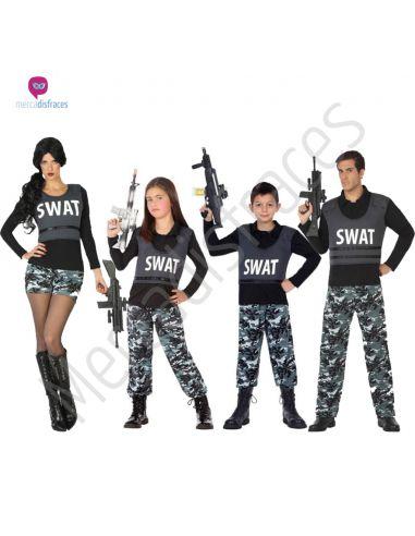 Disfraces para grupos de swats baratos Tienda de disfraces online - venta disfraces