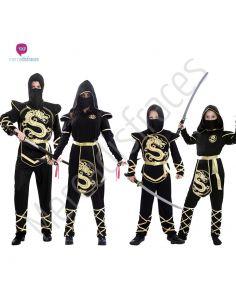 Disfraces originales de Ninjas en grupo Tienda de disfraces online - venta disfraces