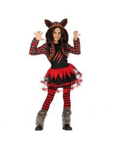 Disfraz Niña Lobo infantil Tienda de disfraces online - venta disfraces