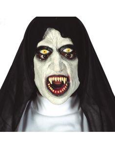 Mascara Monja Siniestra de Látex Tienda de disfraces online - venta disfraces