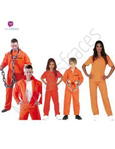 Disfraces para grupos de Presos Tienda de disfraces online - venta disfraces