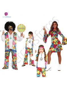 Disfraces para grupos de Rainbow Hippies Tienda de disfraces online - venta disfraces