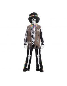 Disfraz de Esqueleto de Hippie para Adulto Tienda de disfraces online - venta disfraces