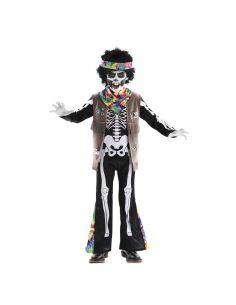 Disfraz de Esqueleto de Hippie para Infantil Tienda de disfraces online - venta disfraces
