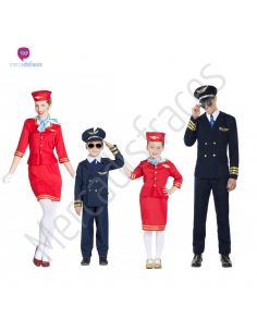 Discfraces para grupos de Azafatas y Pilotos Tienda de disfraces online - venta disfraces