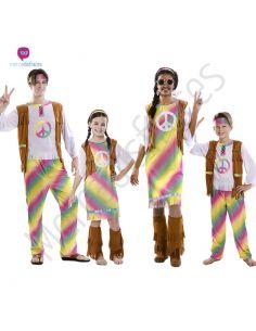 Disfraces para grupos de Hippies Arcoiris Tienda de disfraces online - venta disfraces