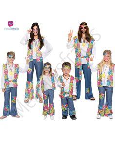 Disfraces para grupos de Hippies Flower Power Tienda de disfraces online - venta disfraces