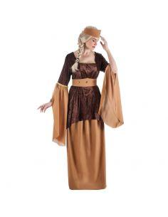 Disfraz Medieval Marrón para mujer Tienda de disfraces online - venta disfraces