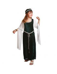 Disfraz Medieval Verde para niña Tienda de disfraces online - venta disfraces