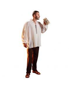 Disfraz Camisa Medieval para hombre Tienda de disfraces online - venta disfraces