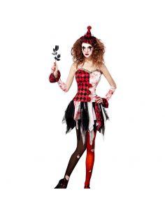 Disfraz de Arlequina Terrorífica para Mujer Tienda de disfraces online - venta disfraces