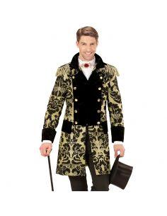 Abrigo Parada Jacquard Oro para Hombre Tienda de disfraces online - venta disfraces