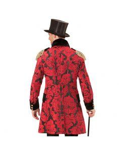 Abrigo Parada Jacquard Rojo para Hombre Tienda de disfraces online - venta disfraces