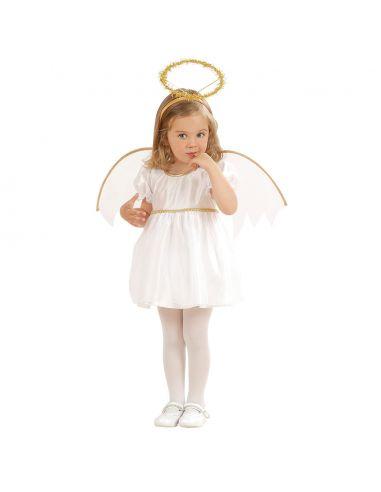Disfraz de Ángel Blanco para Infantil Tienda de disfraces online - venta disfraces