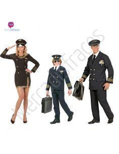 Disfraces grupo Pilotos azules Tienda de disfraces online - venta disfraces