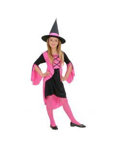 Disfraz de Bruja Rosa para Niña Tienda de disfraces online - venta disfraces