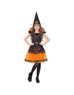Disfraz Bruja de Halloween para Niña Tienda de disfraces online - venta disfraces