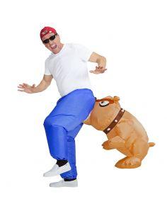 Disfraz de Bulldog Hinchable para Adulto Tienda de disfraces online - venta disfraces