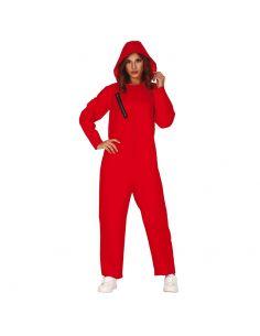 Disfraz de Convicta con Capucha Roja para Mujer Tienda de disfraces online - venta disfraces