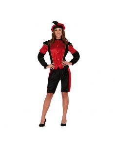 Disfraz de Paje Rojo para Mujer Tienda de disfraces online - venta disfraces