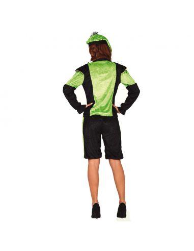 Disfraz de Paje Verde para Mujer Tienda de disfraces online - venta disfraces