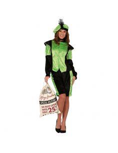 Disfraz de Paje Verde para...