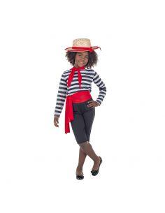 Disfraz de Gondolera Veneciana para Niña Tienda de disfraces online - venta disfraces