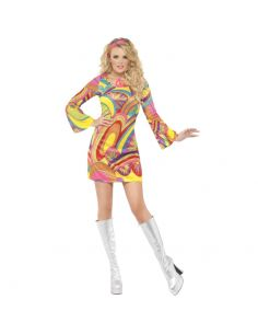 Disfraz Hippie sexy Años 60 Tienda de disfraces online - venta disfraces