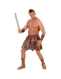 Kit Falda Gladiador con Muñequeras Tienda de disfraces online - venta disfraces