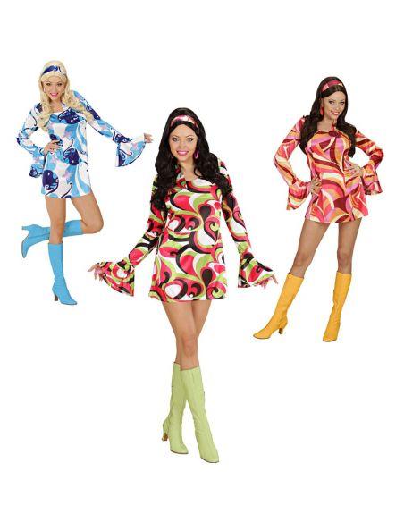 Disfraz Chica Años 70 Tienda de disfraces online - venta disfraces