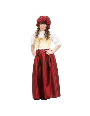Traje medieval para campesina infantil Tienda de disfraces online - venta disfraces