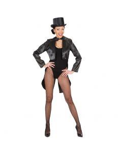 Frac en Raso Negro para mujer Tienda de disfraces online - venta disfraces
