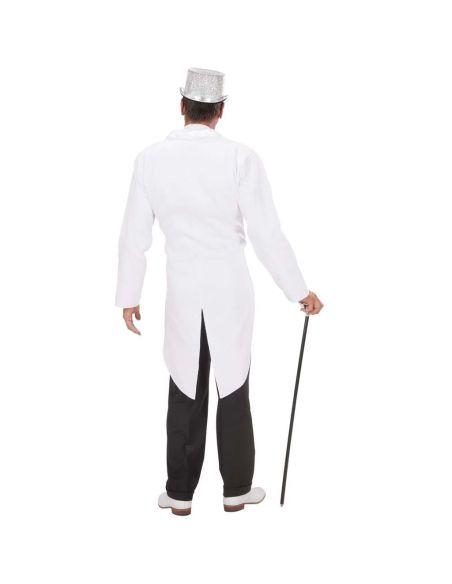 Frac Blanco para hombre Tienda de disfraces online - venta disfraces