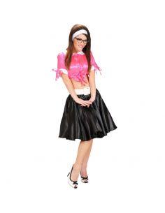 Falda de los Años 60 en Negro Tienda de disfraces online - venta disfraces