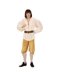 Pantalón Pirata en Ocre Tienda de disfraces online - venta disfraces