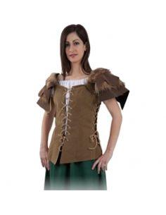 Chaleco Medieval Mujer Tienda de disfraces online - venta disfraces