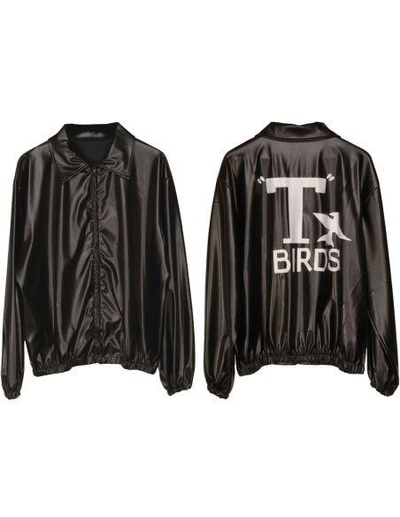 Cazadora Negra T Birds Tienda de disfraces online - venta disfraces