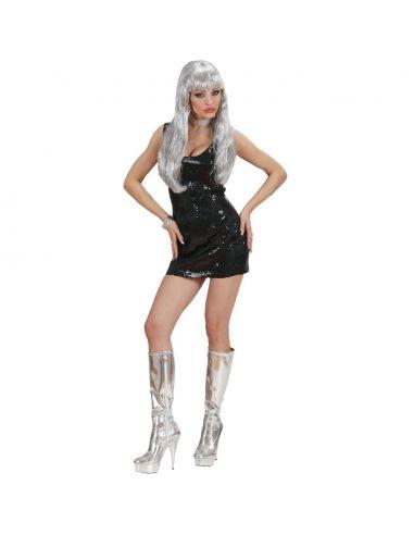 Vestido Lentejuelas Negro Tienda de disfraces online - venta disfraces